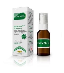 Otopina propolisa s ekstraktima kadulje i mente sa smanjenim sadržajem alkohola.