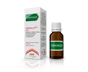 Propolis jača otpornost organizma, naročito u slučajevima prehlada i raznih infekcija.
